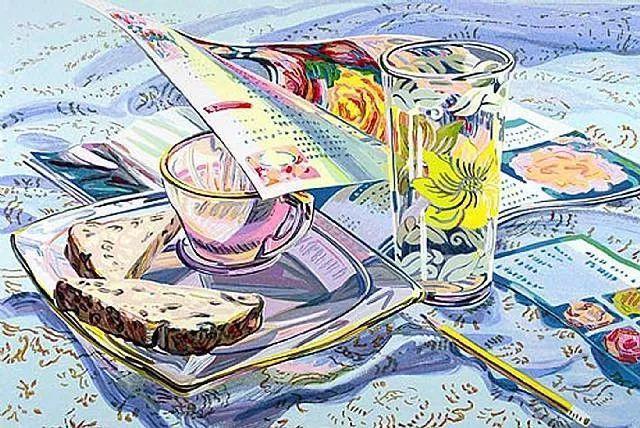 美国画家Janet Fish的靓丽色彩插图21
