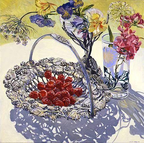 美国画家Janet Fish的靓丽色彩插图23