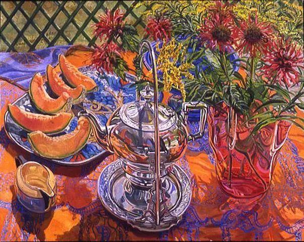 美国画家Janet Fish的靓丽色彩插图25