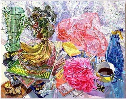 美国画家Janet Fish的靓丽色彩插图27