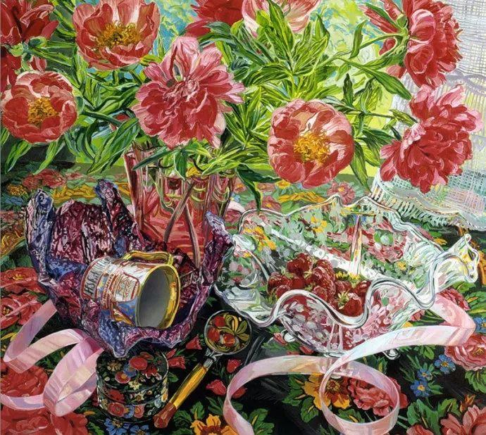 美国画家Janet Fish的靓丽色彩插图29
