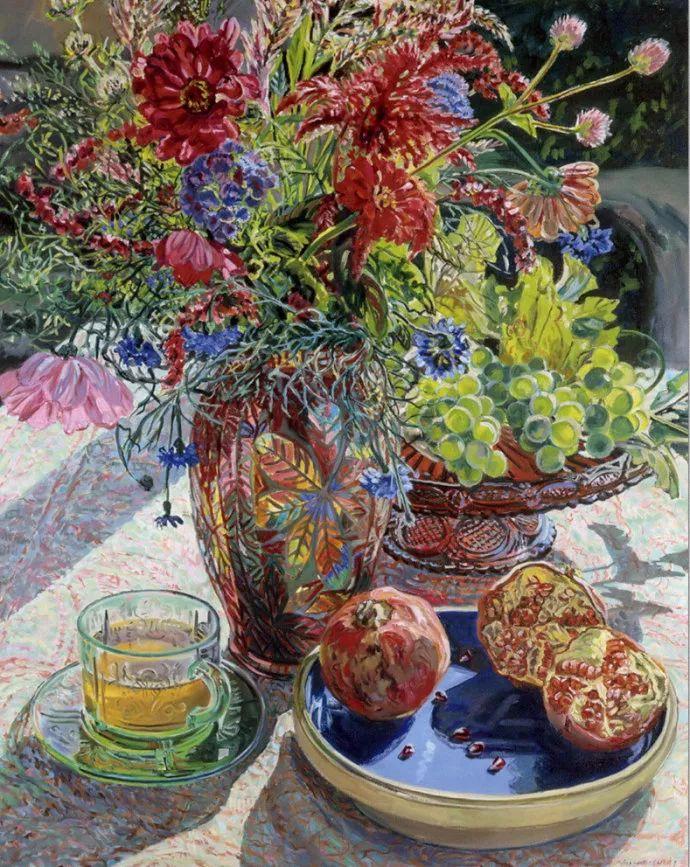 美国画家Janet Fish的靓丽色彩插图31