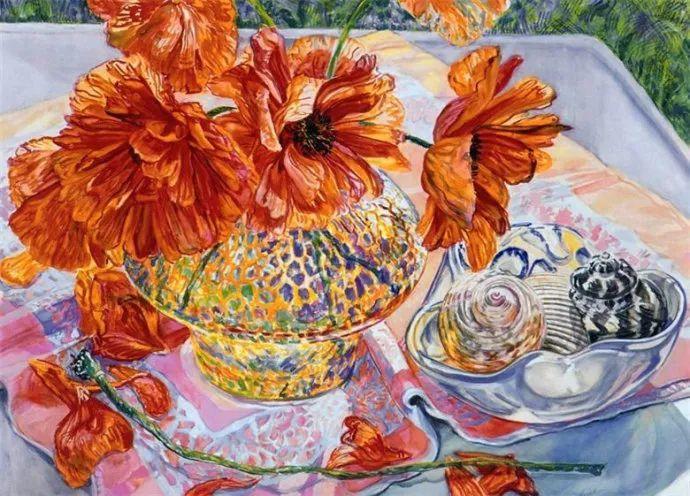 美国画家Janet Fish的靓丽色彩插图33