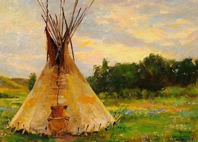 美国画家Joseph Henry Sharp插图4
