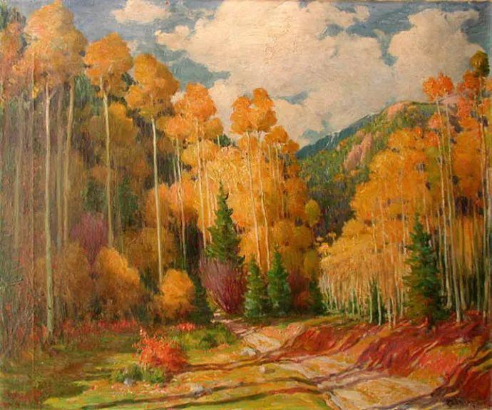美国画家Joseph Henry Sharp插图14