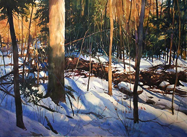 雪景油画 美国Christopher Leeper作品插图13