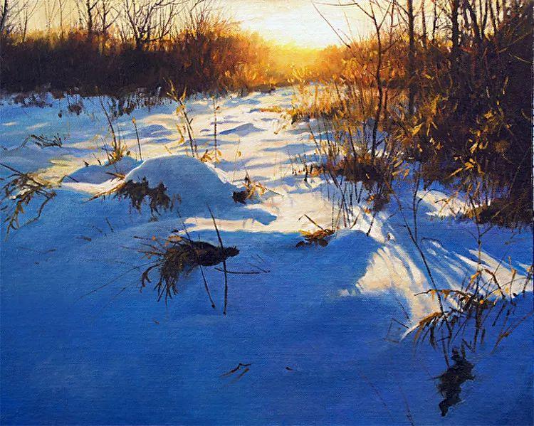 雪景油画 美国Christopher Leeper作品插图17