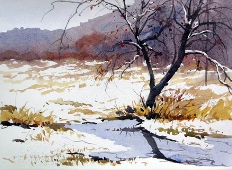 雪景油画 美国Christopher Leeper作品插图21