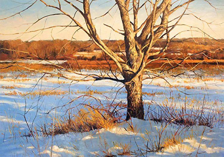 雪景油画 美国Christopher Leeper作品插图29