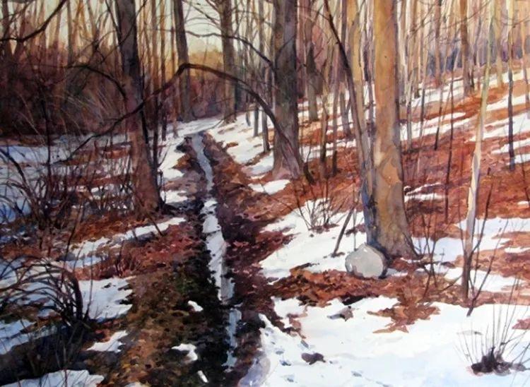 雪景油画 美国Christopher Leeper作品插图37