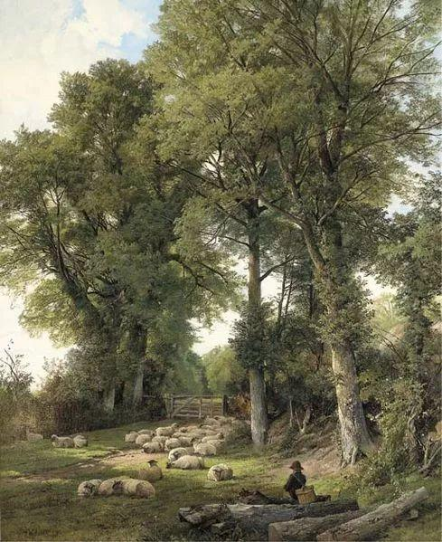 英国风景画家Frederick william hulme插图7