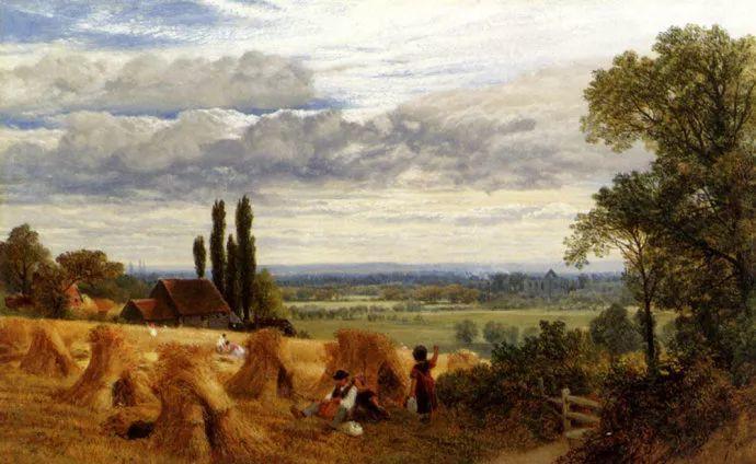 英国风景画家Frederick william hulme插图17