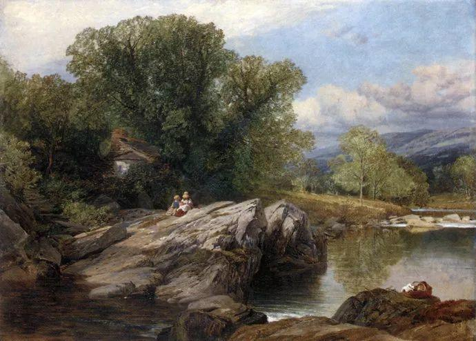 英国风景画家Frederick william hulme插图19
