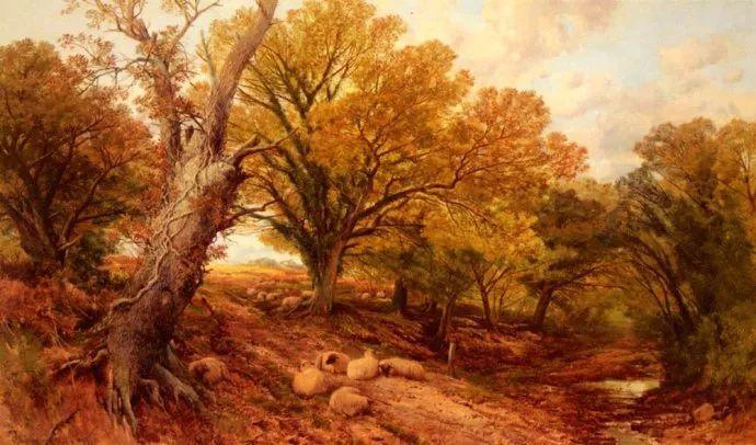 英国风景画家Frederick william hulme插图25