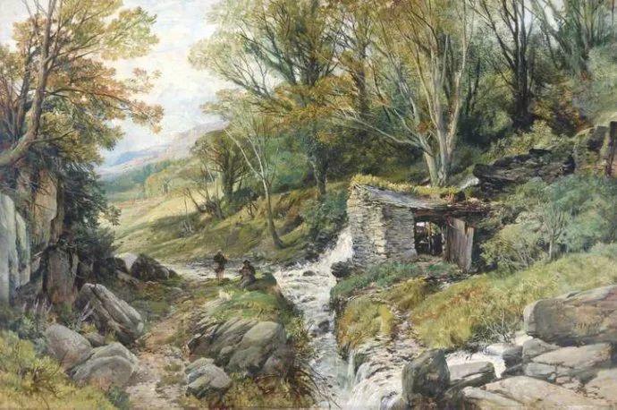 英国风景画家Frederick william hulme插图33