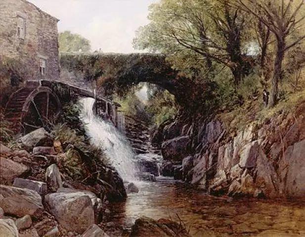 英国风景画家Frederick william hulme插图37