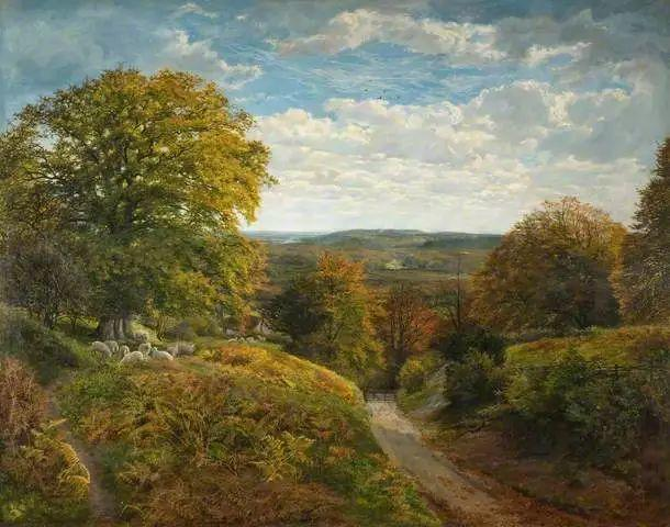 英国风景画家Frederick william hulme插图45