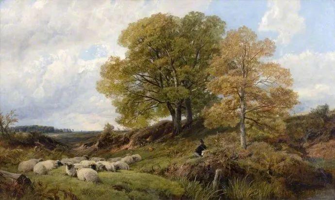 英国风景画家Frederick william hulme插图47