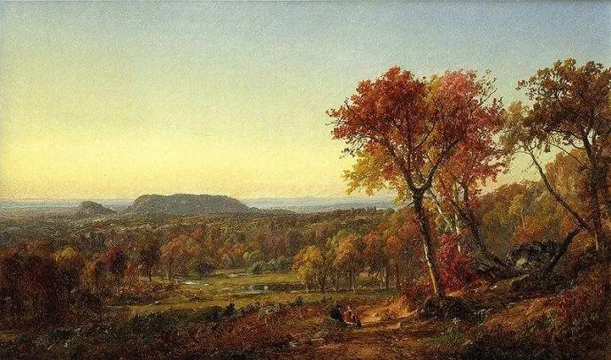 风景画 美国艺术家Jasper francis cropsey作品三插图5