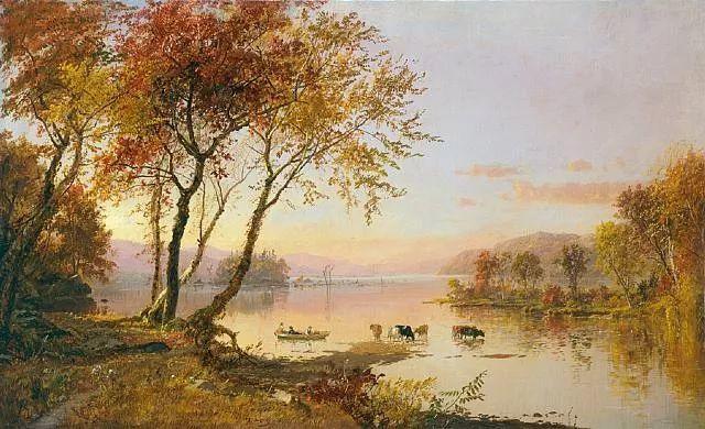 风景画 美国艺术家Jasper francis cropsey作品三插图21