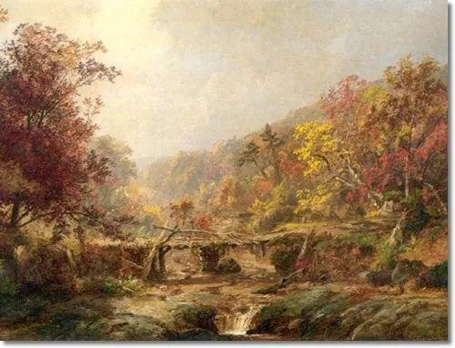 风景画 美国艺术家Jasper francis cropsey作品三插图31