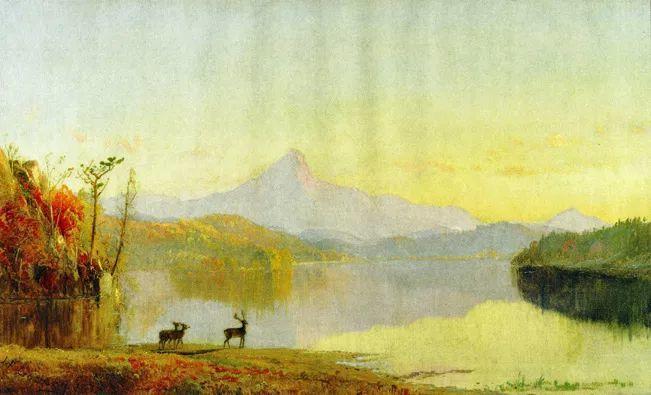 风景画 美国艺术家Jasper francis cropsey作品三插图33