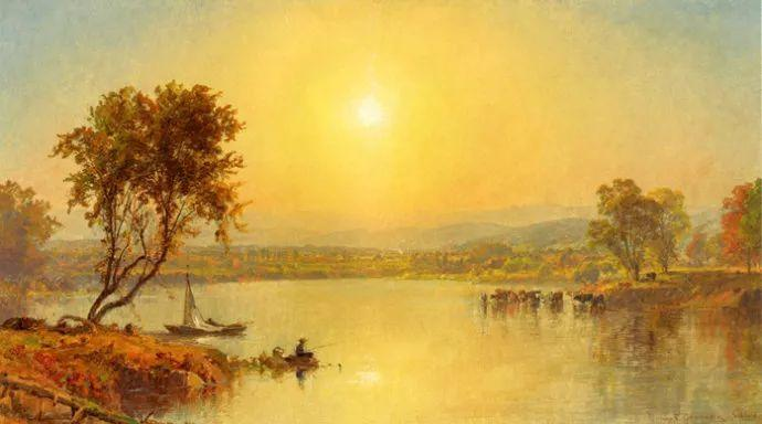 风景画 美国艺术家Jasper francis cropsey作品三插图39
