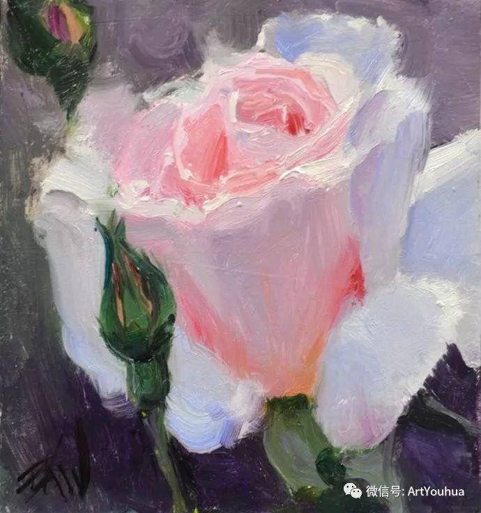 花卉油画欣赏 美国Eric Wallis作品插图1