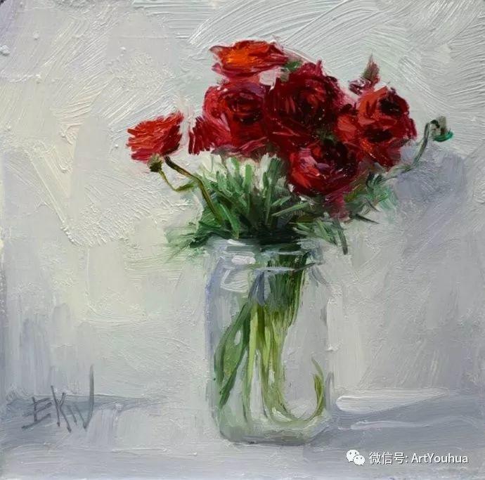 花卉油画欣赏 美国Eric Wallis作品插图3