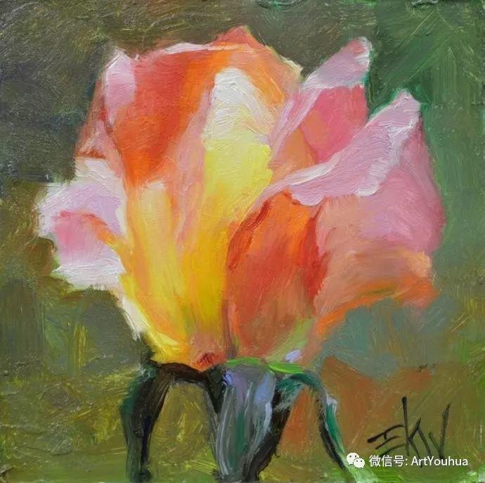 花卉油画欣赏 美国Eric Wallis作品插图5