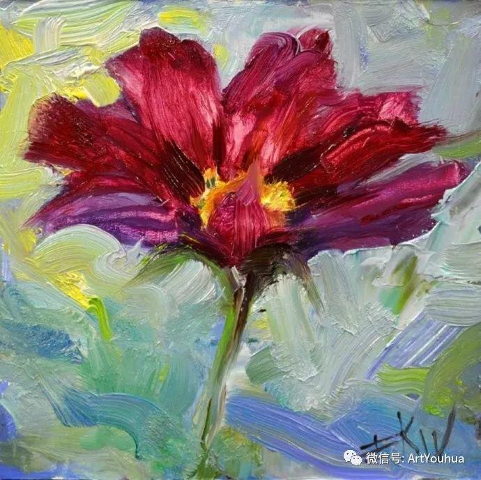 花卉油画欣赏 美国Eric Wallis作品插图7