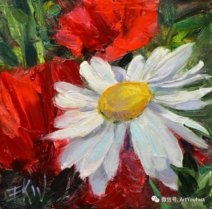花卉油画欣赏 美国Eric Wallis作品插图13