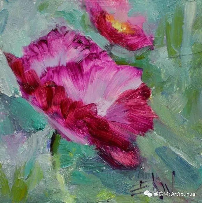 花卉油画欣赏 美国Eric Wallis作品插图15