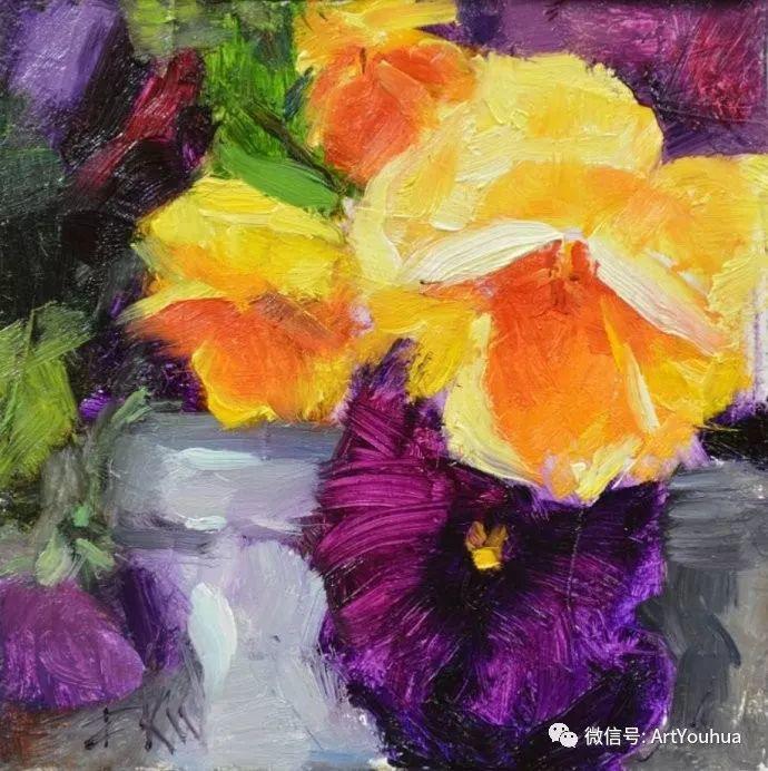 花卉油画欣赏 美国Eric Wallis作品插图17