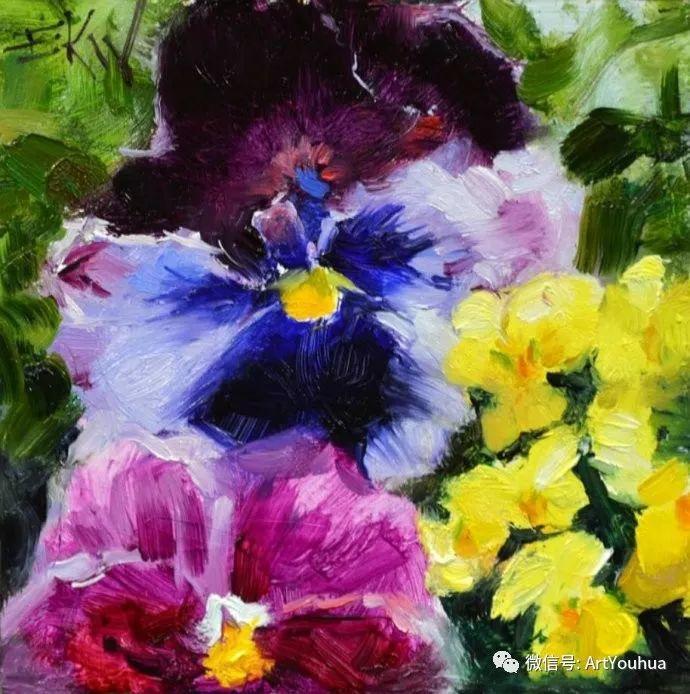 花卉油画欣赏 美国Eric Wallis作品插图19