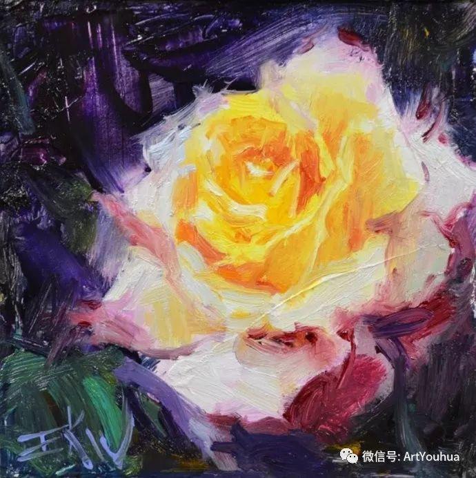 花卉油画欣赏 美国Eric Wallis作品插图23