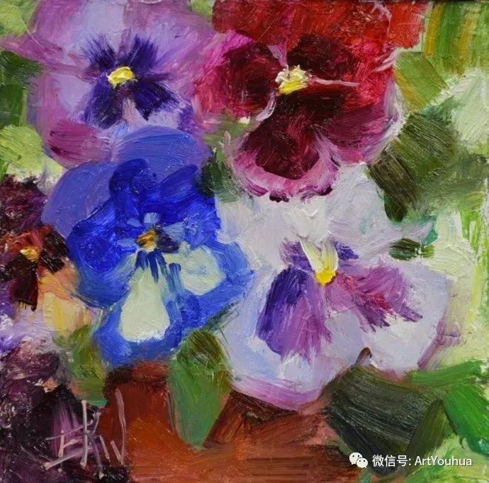 花卉油画欣赏 美国Eric Wallis作品插图25