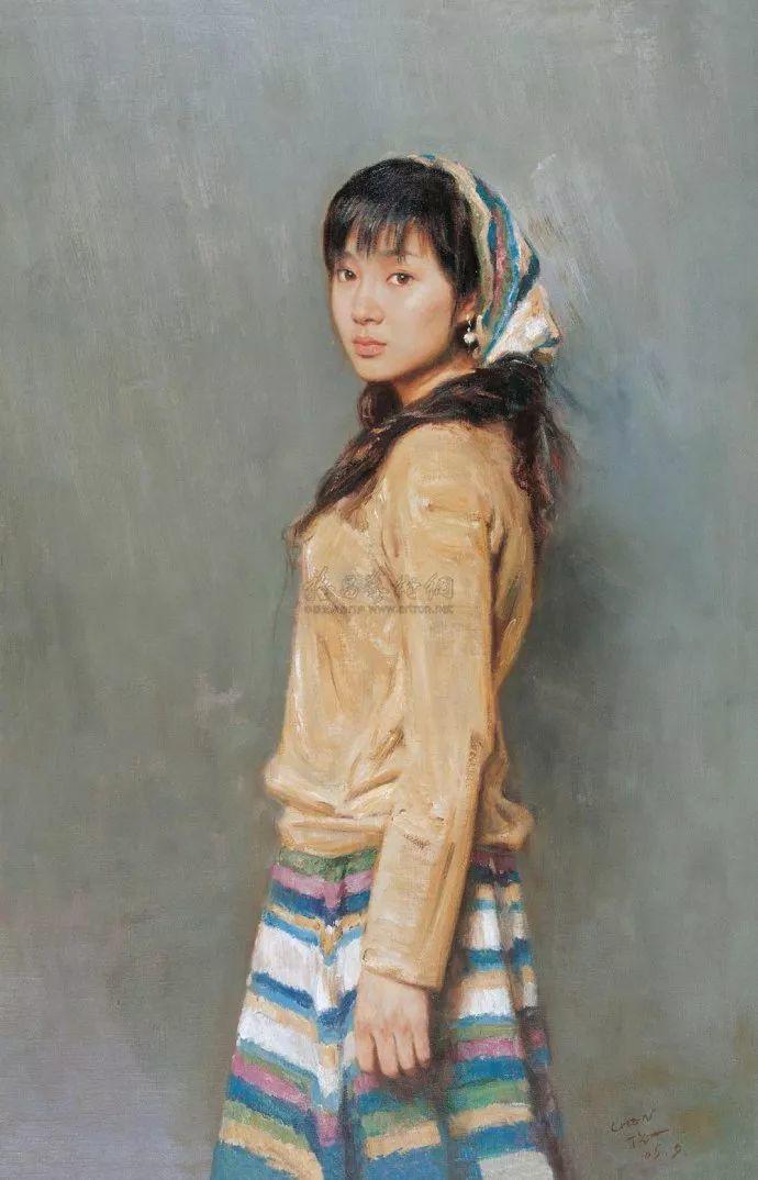 人物油画欣赏 陈宏庆油画作品插图17
