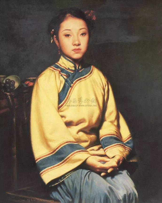 人物油画欣赏 陈宏庆油画作品插图27