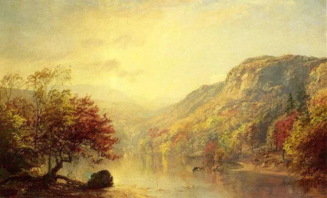 风景画 美国艺术家Jasper francis cropsey作品二插图9