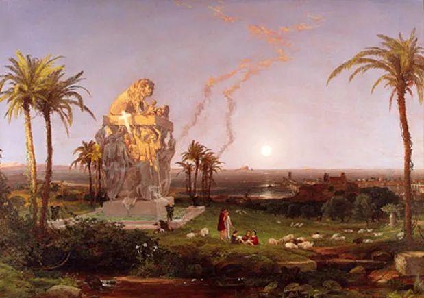 风景画 美国艺术家Jasper francis cropsey作品二插图25
