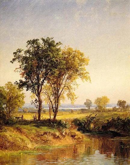 风景画 美国艺术家Jasper francis cropsey作品二插图29