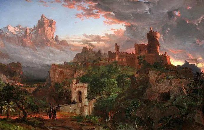 风景画 美国艺术家Jasper francis cropsey作品二插图33