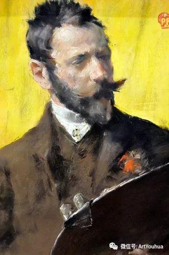 人物风景 美国画家William Merritt Chase作品欣赏插图1
