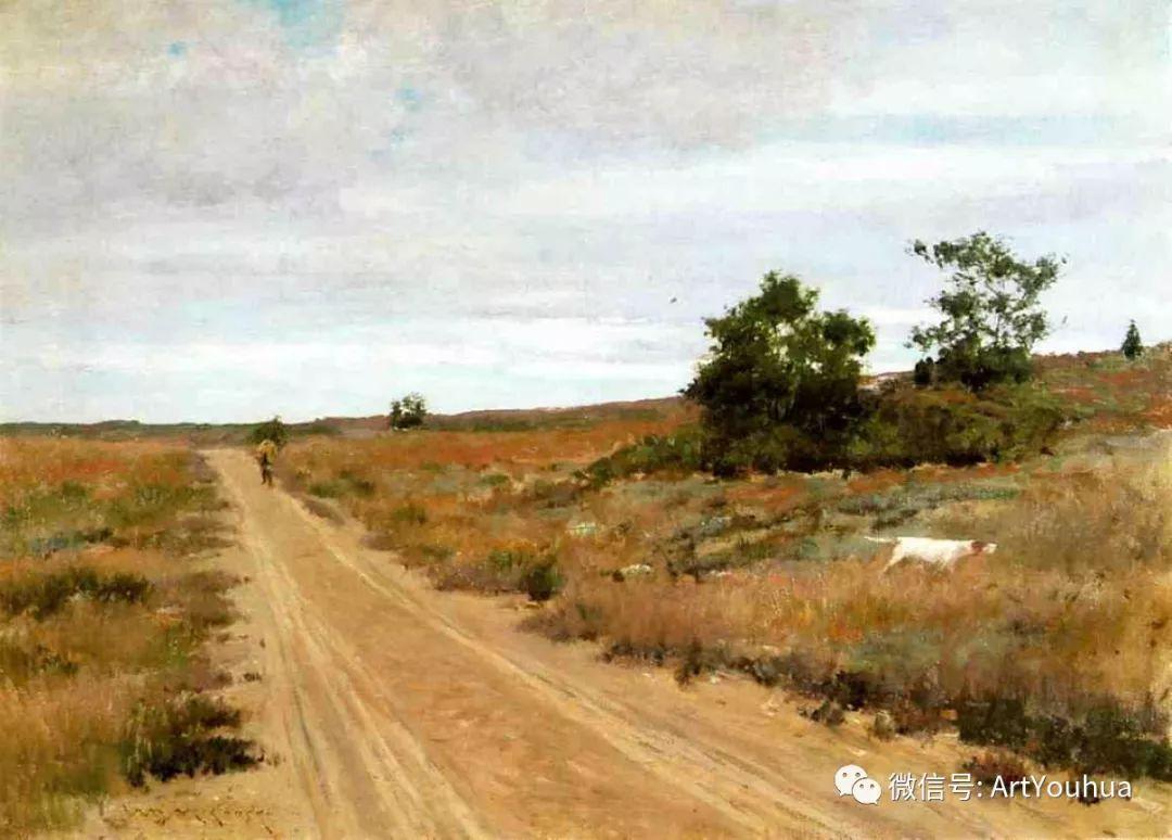人物风景 美国画家William Merritt Chase作品欣赏插图3