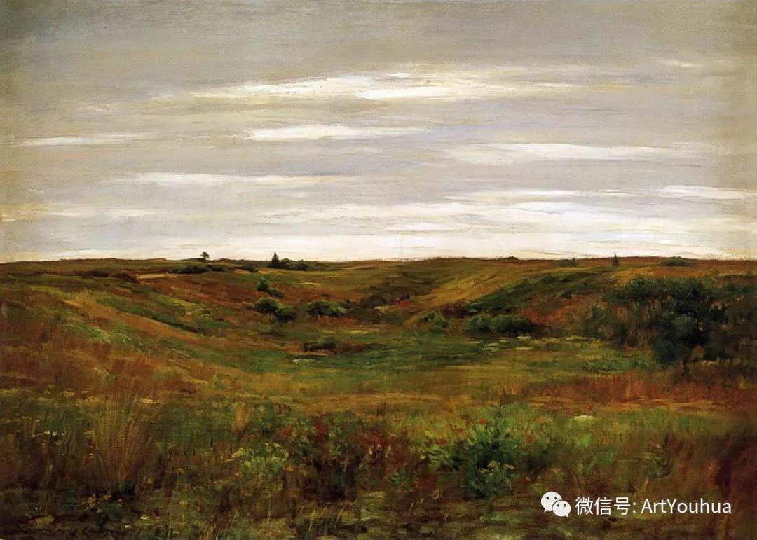 人物风景 美国画家William Merritt Chase作品欣赏插图5