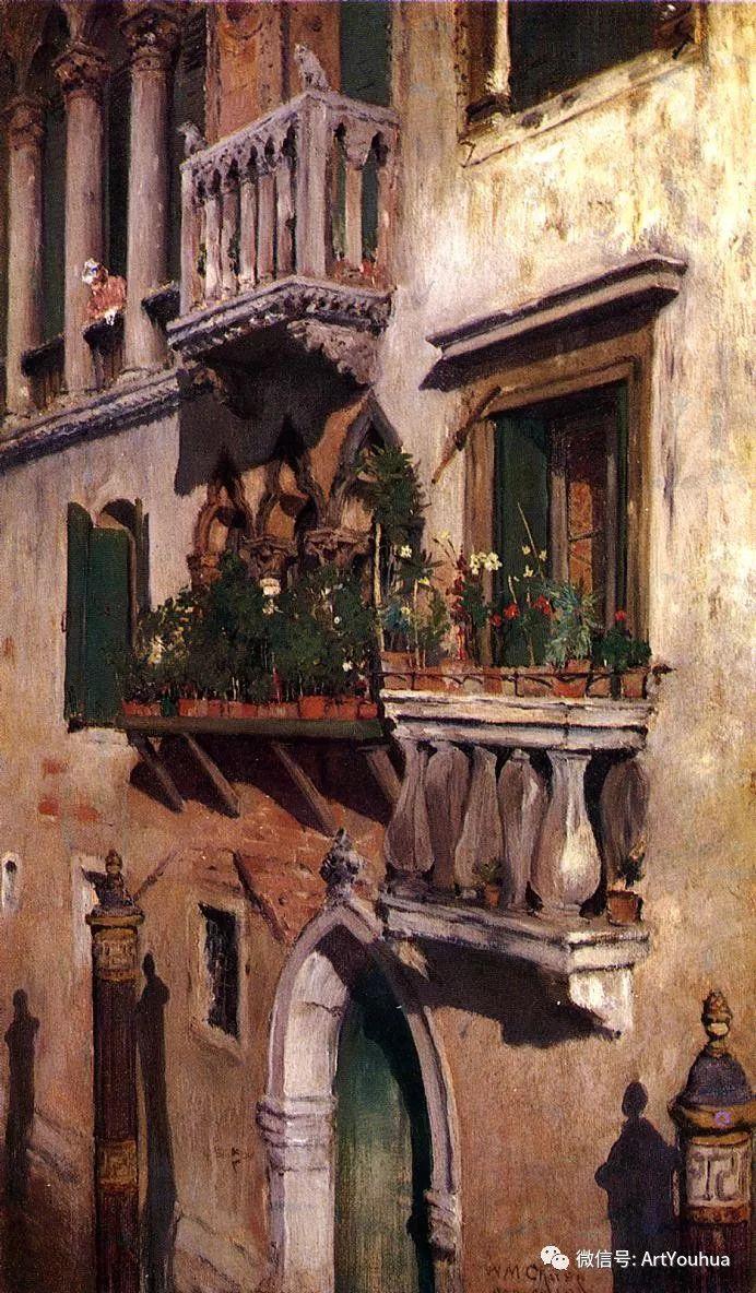 人物风景 美国画家William Merritt Chase作品欣赏插图7