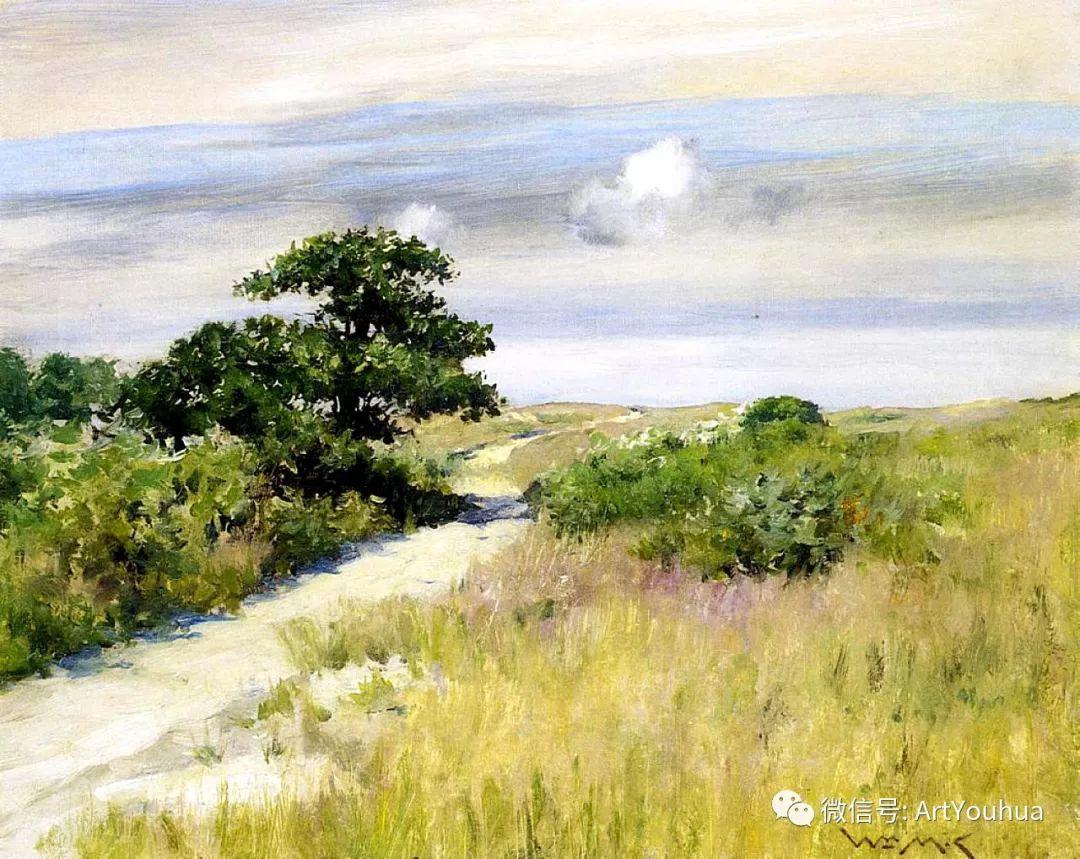 人物风景 美国画家William Merritt Chase作品欣赏插图9