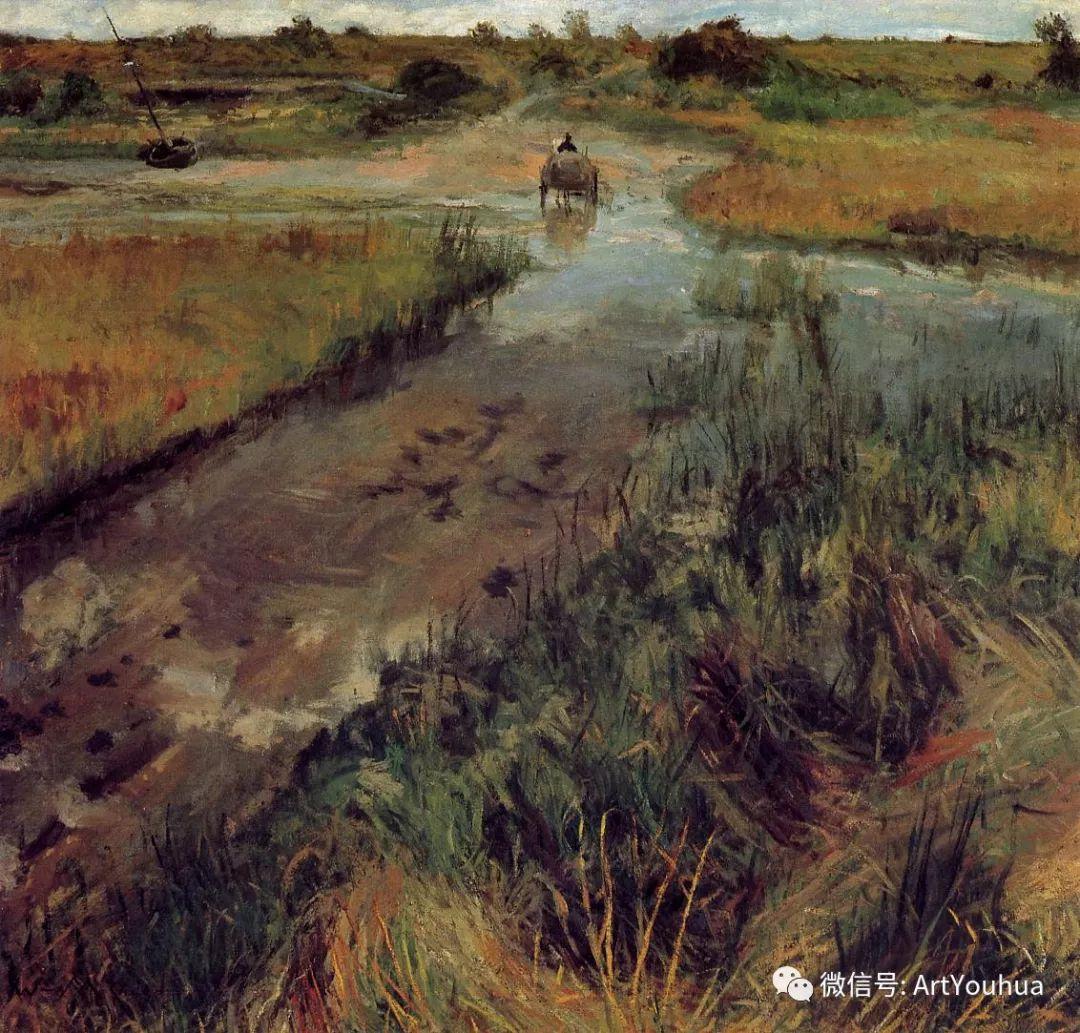 人物风景 美国画家William Merritt Chase作品欣赏插图15