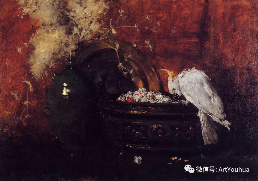 人物风景 美国画家William Merritt Chase作品欣赏插图31